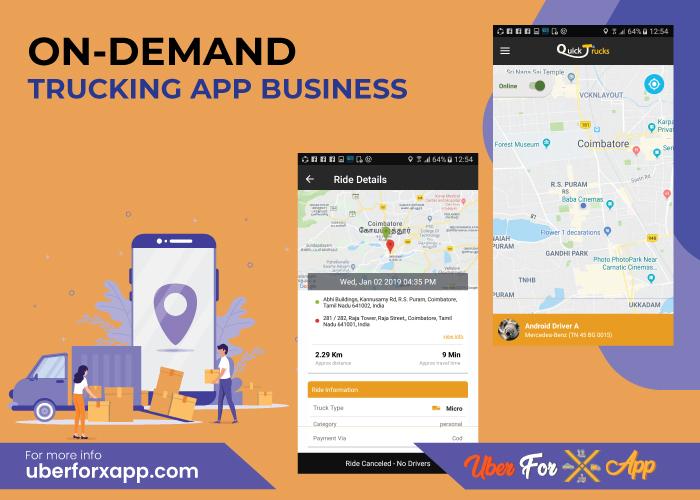 On-Demand Trucking App